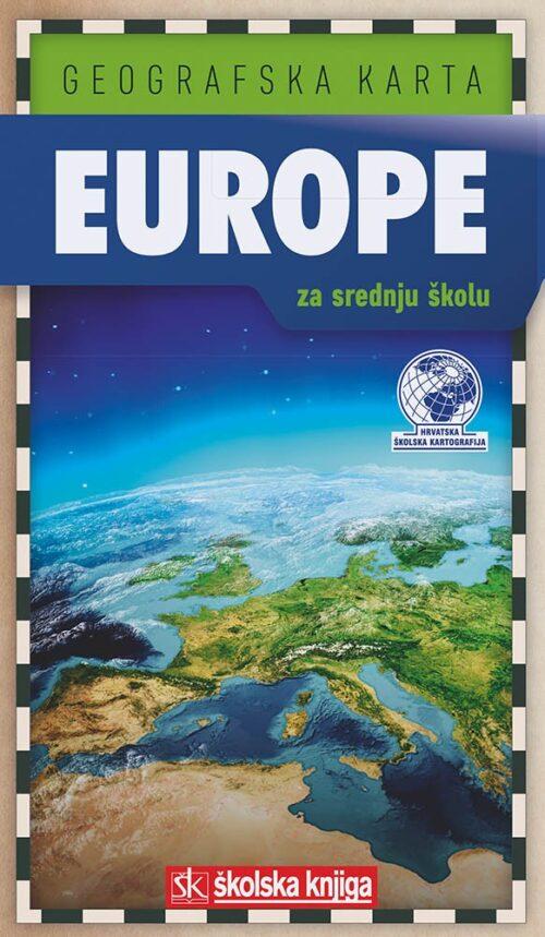 karta europe