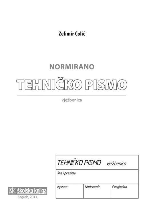 normirano tehničko pismo